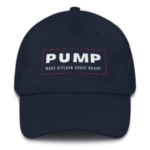PUMP : Make Bitcoin Great Again! Hat