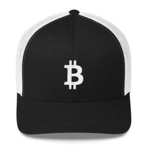 Bitcoin Logo Trucker Cap