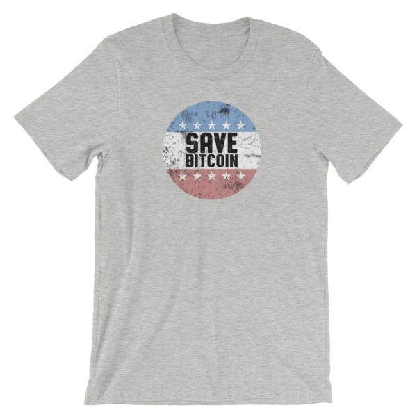 Save Bitcoin T-Shirt