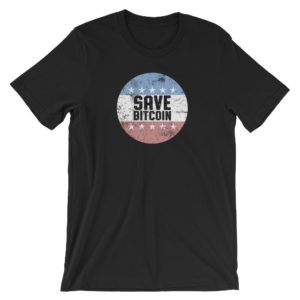 Save Bitcoin T-Shirt