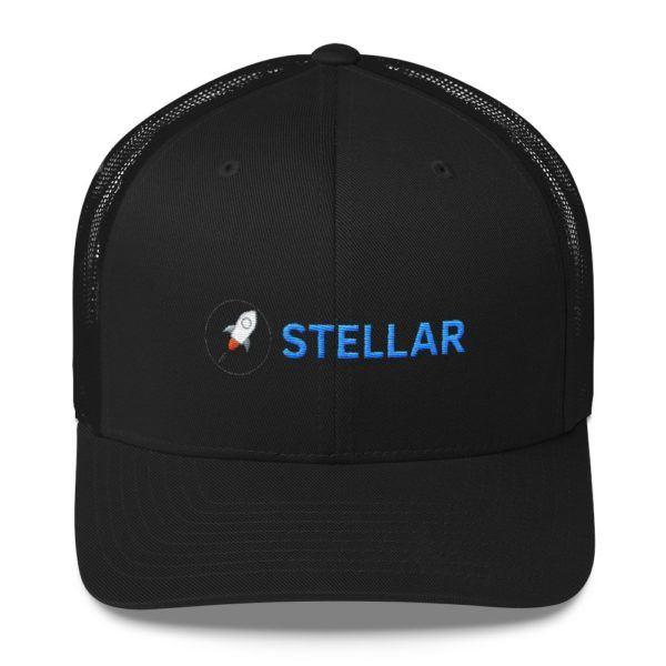 Stellar Lumens Snapback Trucker Cap