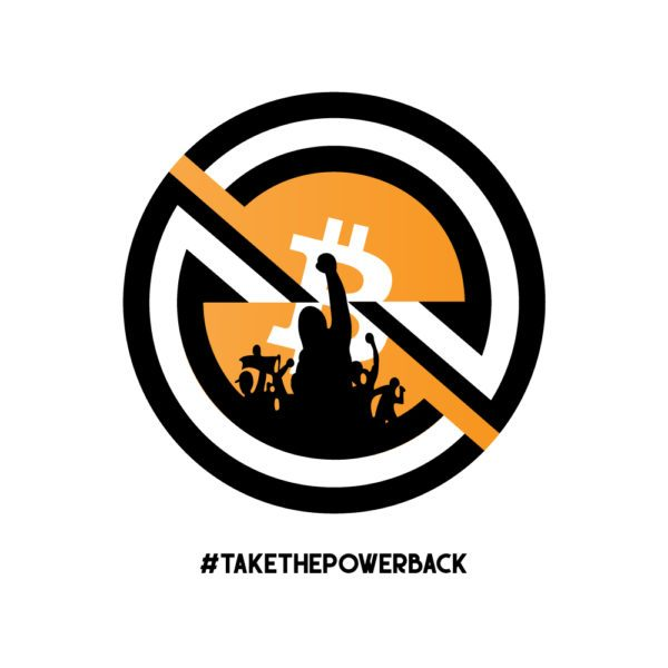 Take The Power Back T-Shirt Design